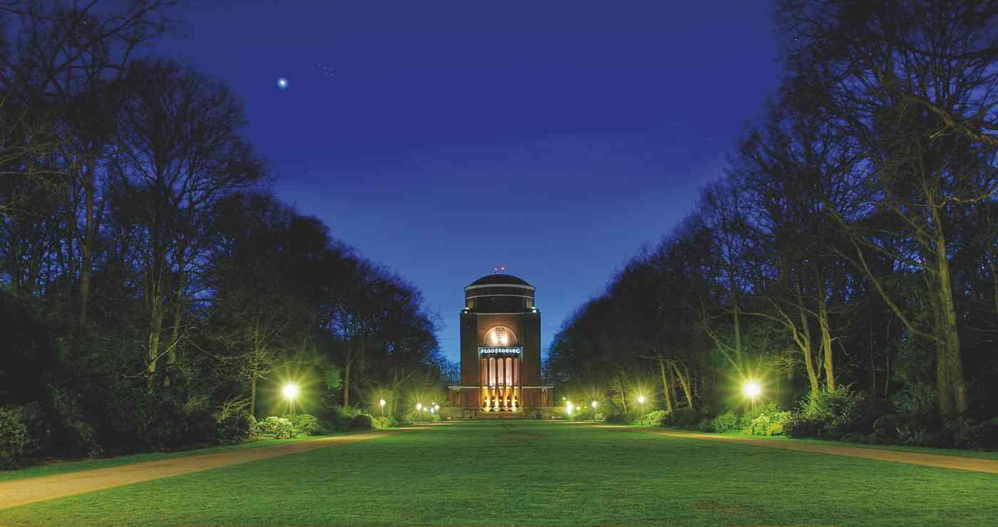 Aussentraustelle des Standesamts Hamburg-Nord Planetarium