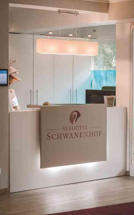 Seehotel Schwanenhof Empfang