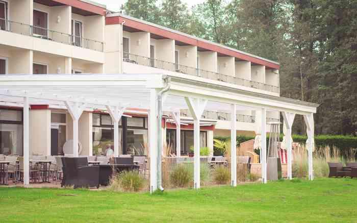 Seehotel Schwanenhof Terasse