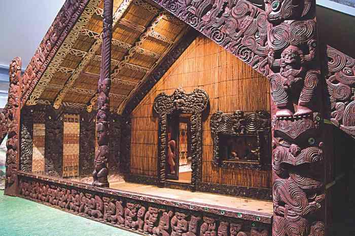 Maori-Haus im Museum für Völkerkunde