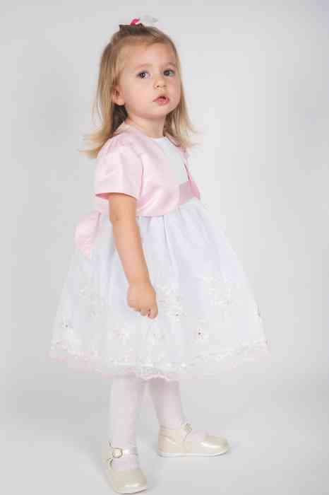 Ceile Kleiderverleih für Kinder Tüllkleid mit Schleife und Bolero