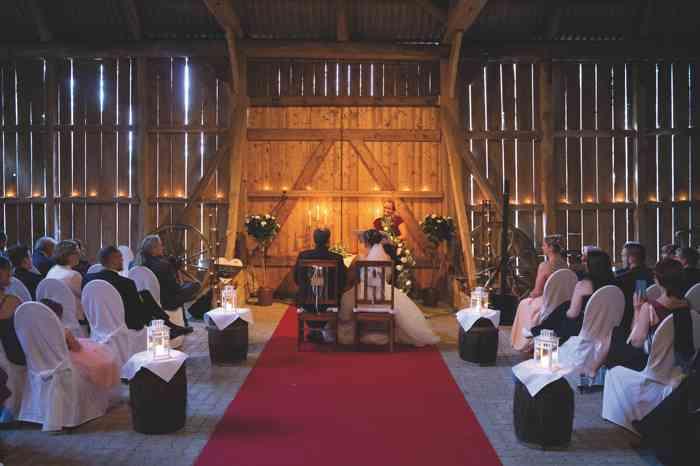 Anne Live Hochzeitssängerin Trauung auf Gut Pronstorf