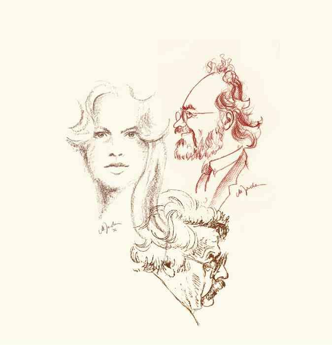 Zeichnung von Schnellzeichnerin Monika Jordan