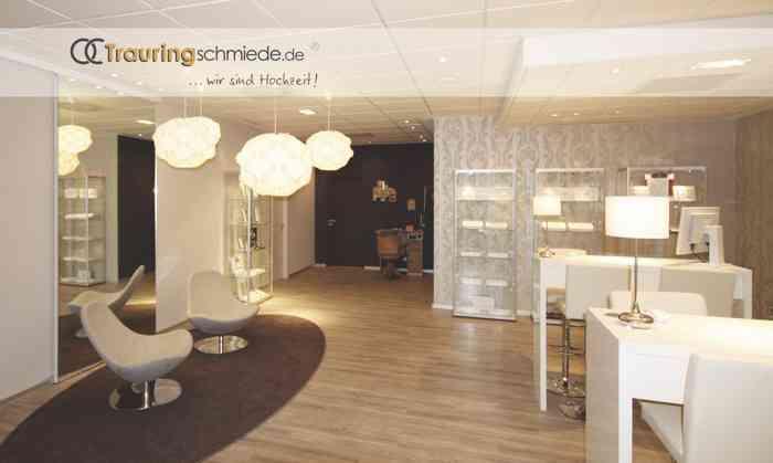 Showroom der Trauringschmiede Drechsel in Hannover