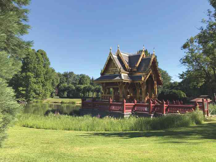 Hochzeitslocation Tailändischer Sala im Tierpark Hagenbeck