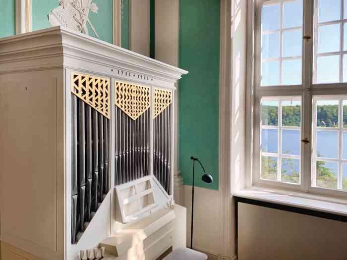 Orgel Rokokosaal im Kreismuseum Herzogtum Lauenburg