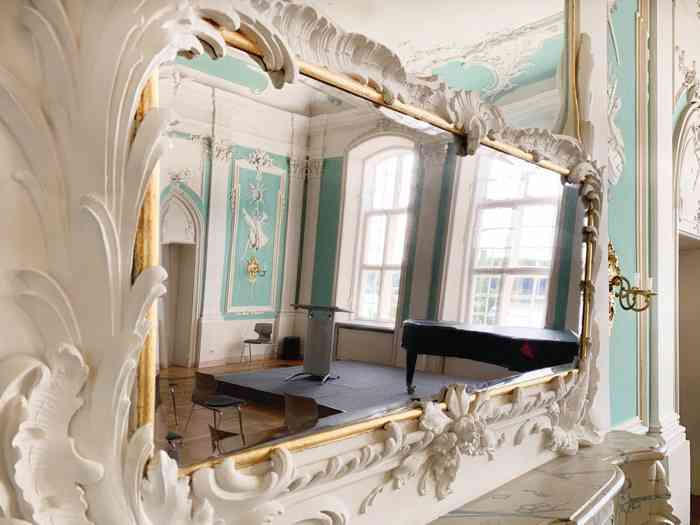 Rokokosaal im Kreismuseum Herzogtum Lauenburg