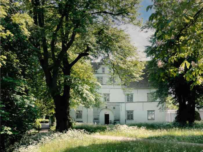 Schloss vor Husum Garten