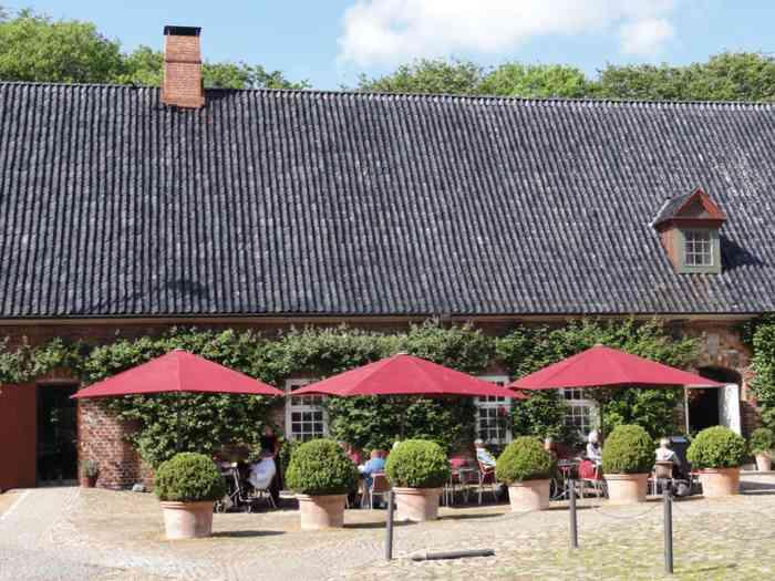 Schloss vor Husum Gastronomie