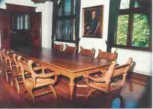 Historischer Saal im Kreishausgebäude