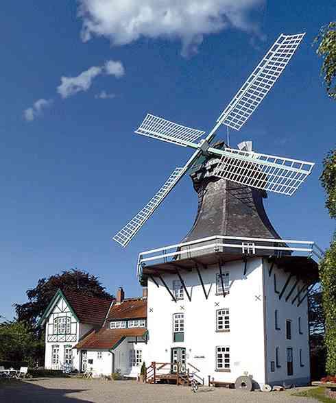 Die Mühle Anna in Rieseby