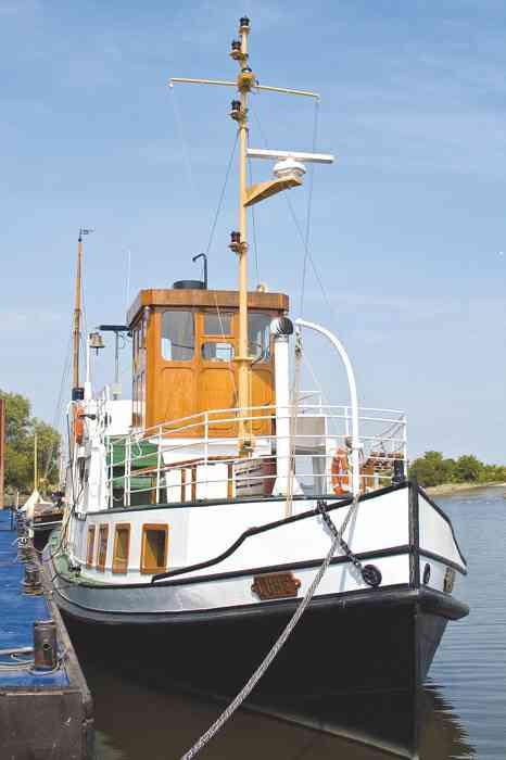 Nostalgieschiff Lühe