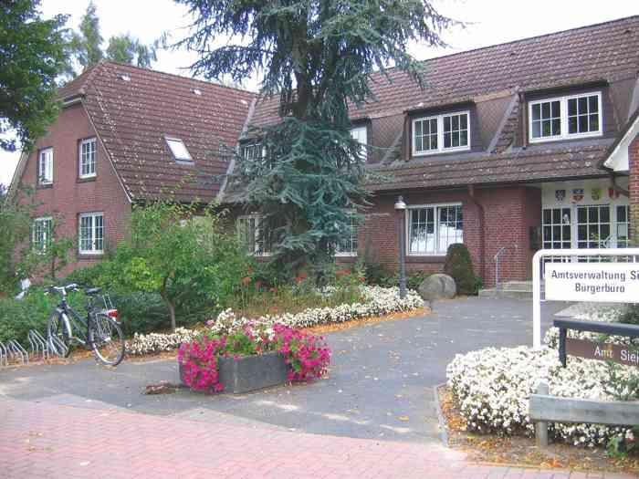 Amtsgebäude in Siek