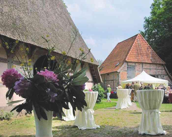 Das Sniers Hus ist Außentraustelle vom Standesamt Buchholz in der Nordheide