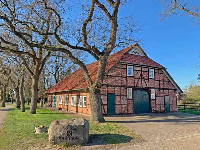 Dorphuus in Lunestedt