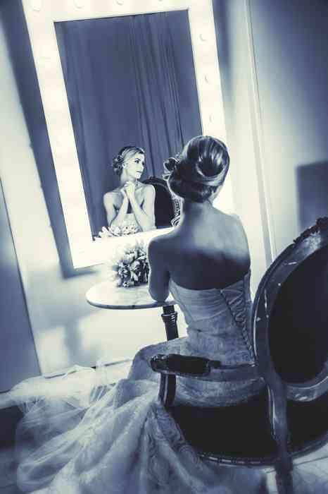Viviana Hair und Beauty Lounge Styling Braut Frisur Make-up