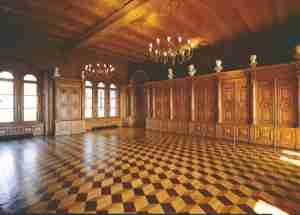 Historische Bibliothek im Schweriner Schloss