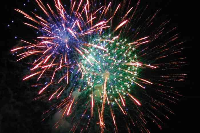 Danze Feuerwerk