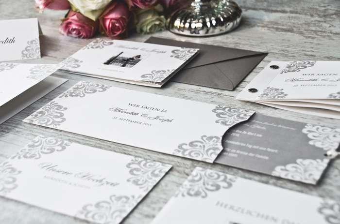 Edle Einladungskarten von carinokarten.de.