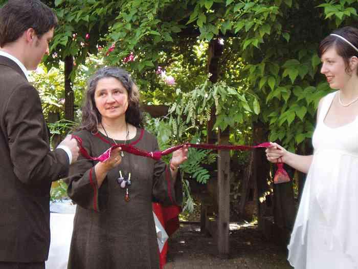Individuelle Hochzeitszeremonie mit Gabriele Brötzmann
