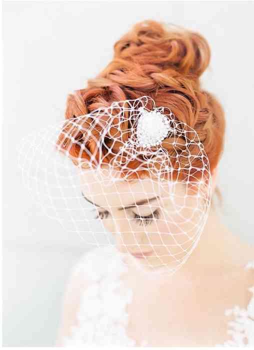 BelleJulie Bridal Accessoires Birdcage Schleier Leila