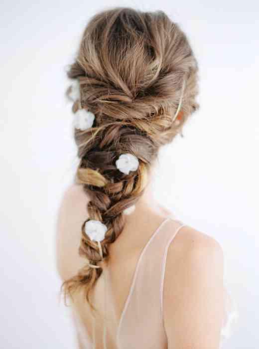 BelleJulie Bridal Accessoires Blumen Haarband Brautfrisur Athene