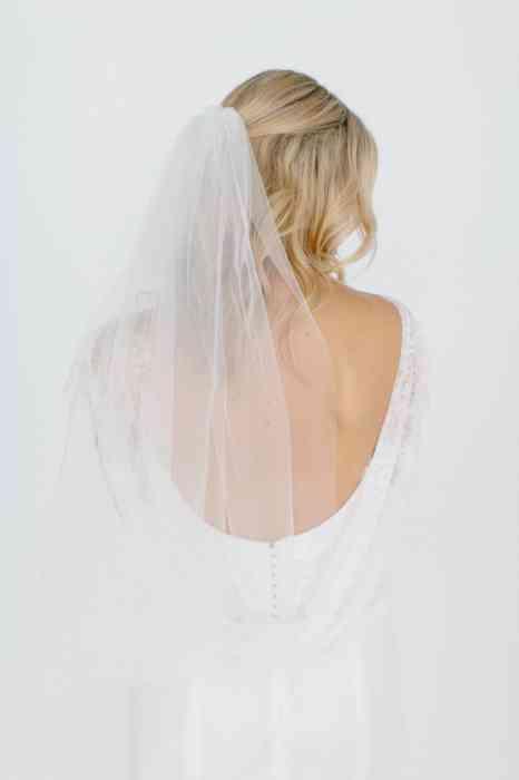 BelleJulie Bridal Accessoires Brautschleier ellenbogenlang Ivy