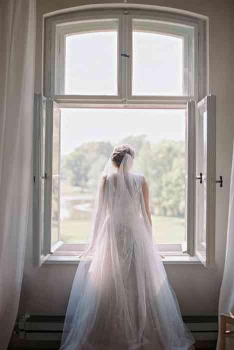 BelleJulie Bridal Accessoires Celia Light Brautschleier bodenlang