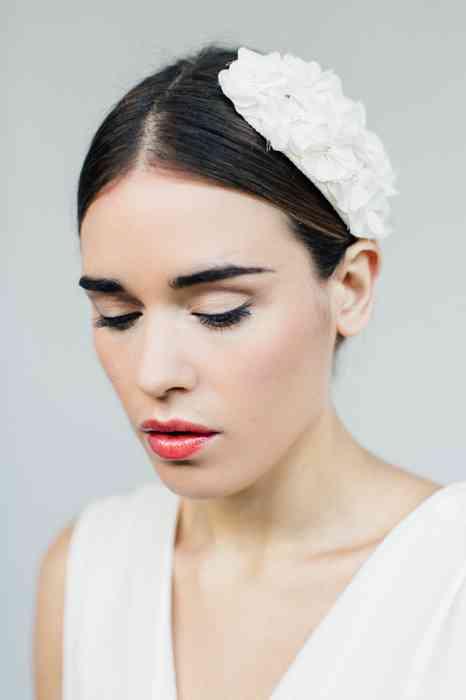 BelleJulie Bridal Accessoires Fascinator Seidenblumen Adeline
