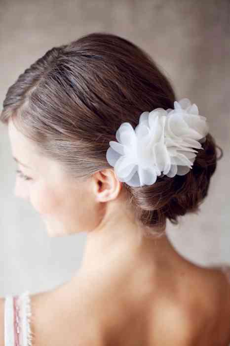 BelleJulie Bridal Accessoires Fleur Seide Haarschmuck