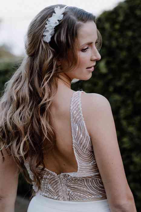 BelleJulie Bridal Accessoires Haarkranz Emmi