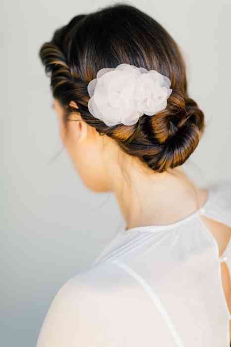 BelleJulie Bridal Accessoires Seidenblüten Haarschmuck Carla