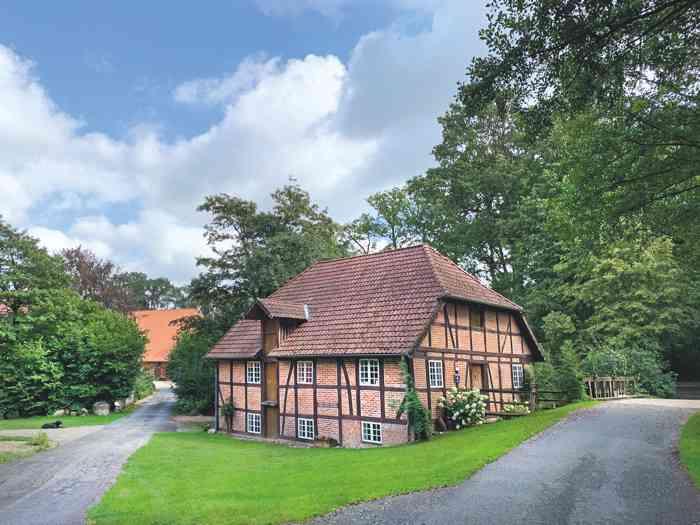 Wassermühle in Federlohmühlen