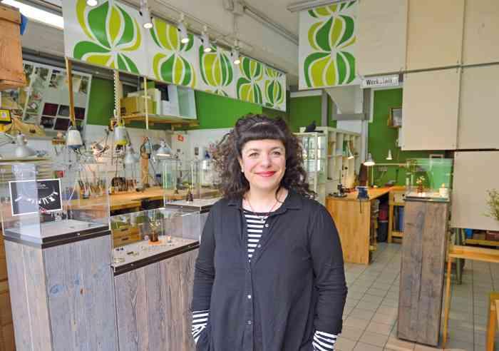 Goldschmiedin Patrizia-Romina hat ihr PrunkWerk 2008 eröffnet.