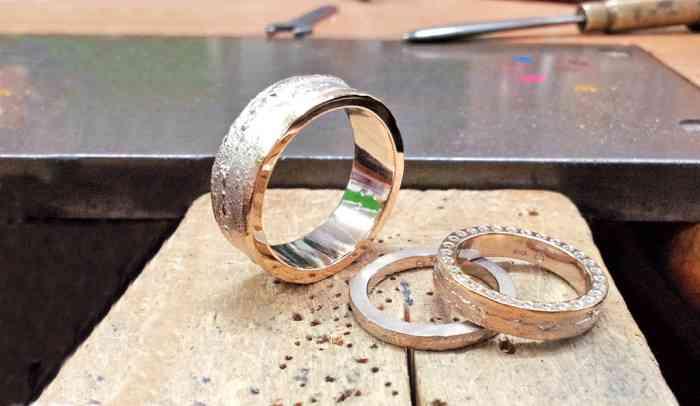 Schmuck Ringe geschmiedet von PrunkWerk