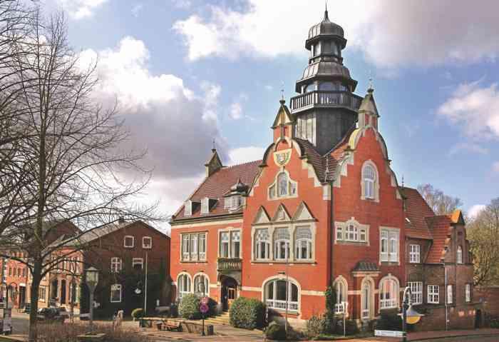 Altes Rathaus Kellinghusen mit einem Trauraum des Standesamtes