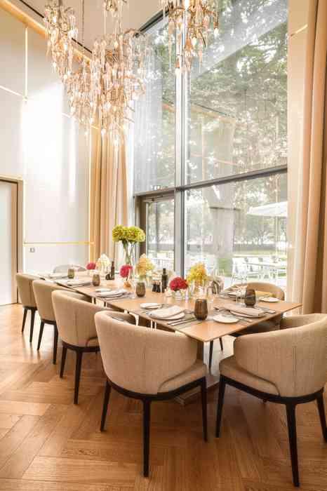The Fontenay Hamburg Hochzeitslocation Private Dining Raum