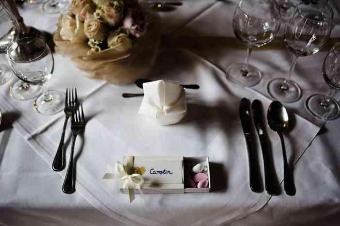 Der festlich gedeckte Tisch