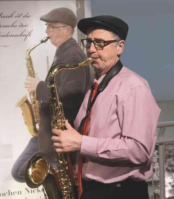 Jochen Nickel Saxophonist