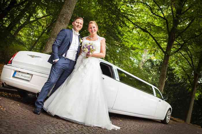 Hochzeitsfahrzeug Bentley Stretch Limousine