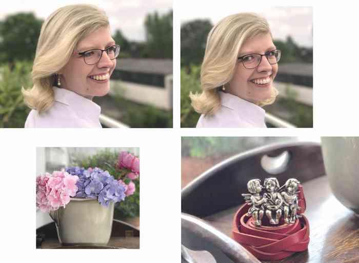Hochzeitsengel Hamburg zeigt schöne Hochzeitsfrisuren und Make-up für das Standesamt