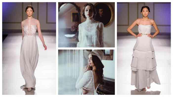 Die Brautmode von Cosmopolka ist modern, zeitlos schick und wird in liebevoller Handarbeit hergestellt.
