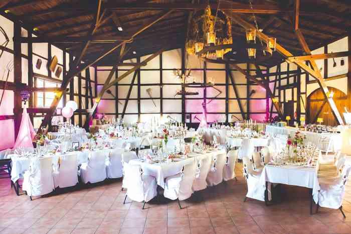 Romantischer Festsaal im Eggershof.