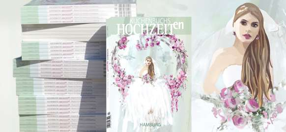 Ein emotionales Event mit bekannten Marken und einer Vielzahl individueller, regionaler Anbieter finden Brautpaare auf der Hochzeitsmesse Wedding Show by GALA - und das Magazin HOCHZEITen in Hamburg.