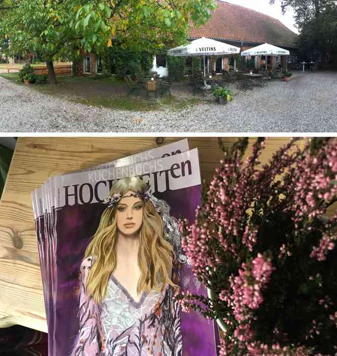 Informieren Sie sich auf der Hochzeitsmesse im traditionsreichen Lüßmann`s Hof in Hambüren und nehmen sie kostenfrei die neue Ausgabe KUCHENBUCHS HOCHZEITen mit.
