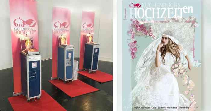 Über 5.000 Inspirationen und Ideen auf der Hochzeitsmesse Trau Dich! in Hannover. Das aktuelle Hochzeitsmagazin bekommen Sie kostenlos am KUCHENBUCHS HOCHZEITen Messestand.