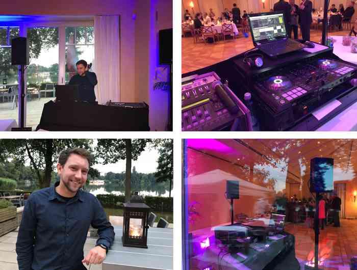 Der DJ hatte eine Aufgabe: Für Stimmung sorgen und die Gäste zum Tanzen bringen.