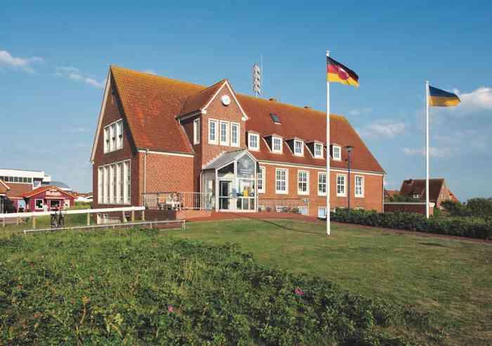 Aussenansicht Rathaus Baltrum