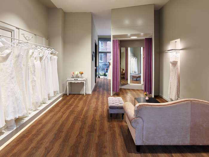 Hier wird der Brautkleid-Kauf zum Erlebnis.