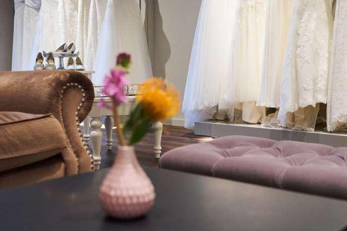 Im luxuriösen Showroom wird jede Anprobe zum Event.